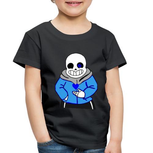 "Undertale San ""ReDraw"" - Toddler Premium T-Shirt"
