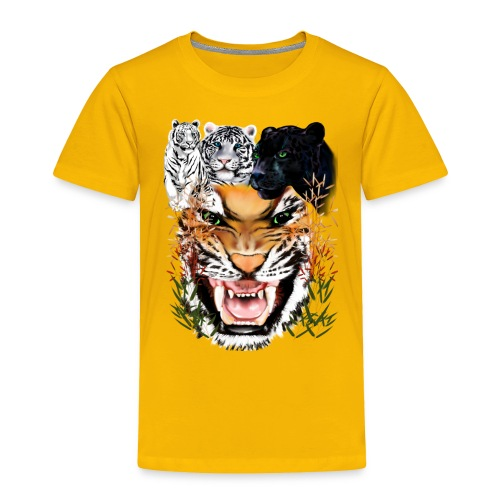 Big Cats - Toddler Premium T-Shirt