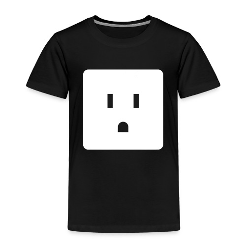 Funny Halloween Couples Costume Wall Outlet Female - Toddler Premium T-Shirt