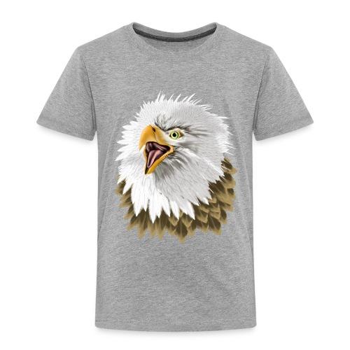 Big, Bold Eagle - Toddler Premium T-Shirt