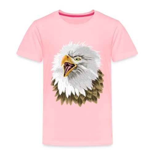 Big, Bold Eagle - Toddler Premium T-Shirt