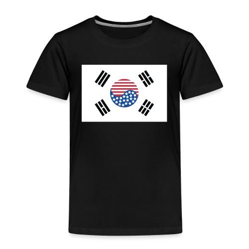 Korean American Flag - Toddler Premium T-Shirt