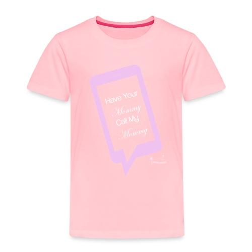 Mommyclearblack - Toddler Premium T-Shirt