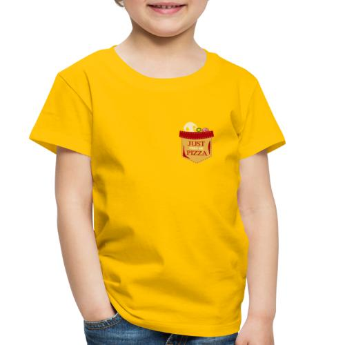 Just feed me pizza - Toddler Premium T-Shirt