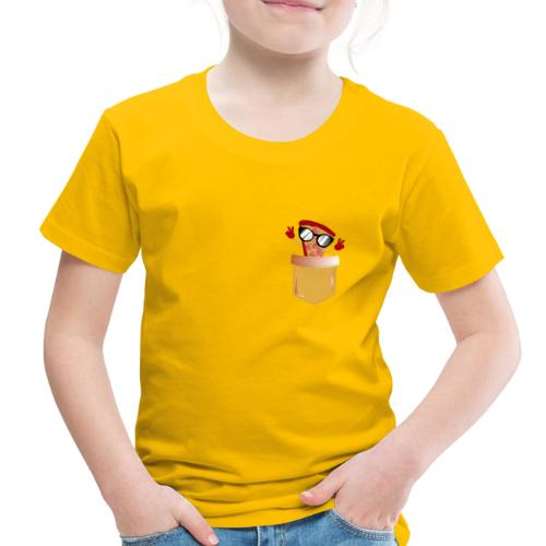Pizza Lover pocket - Toddler Premium T-Shirt