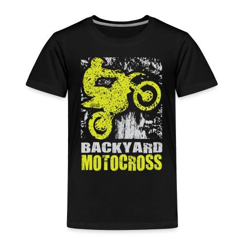 Backyard Motocross Kawasaki - Toddler Premium T-Shirt