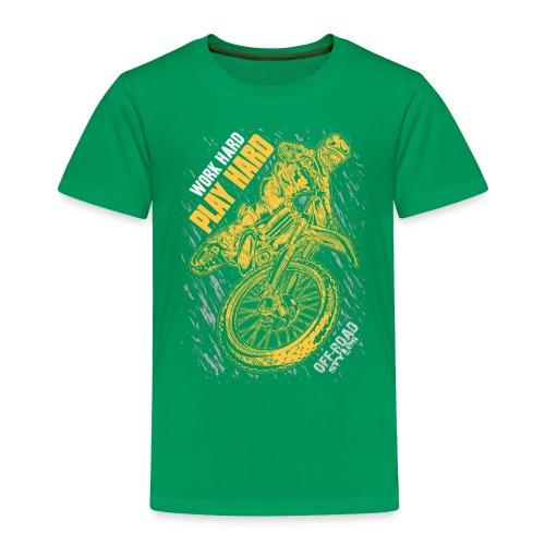 MX Play Hard Orange - Toddler Premium T-Shirt