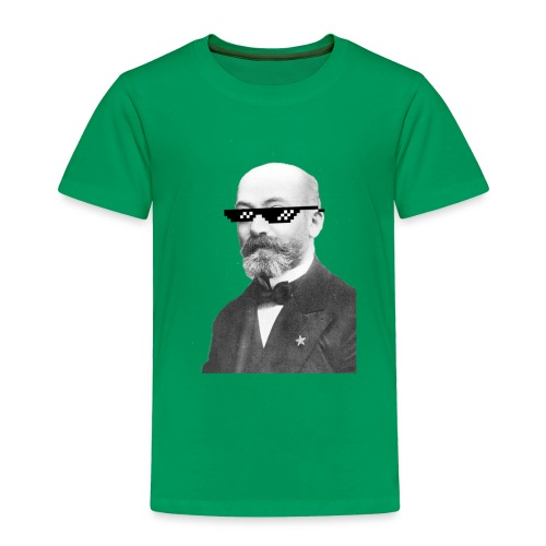 Zamenhof Shades (BW) - Toddler Premium T-Shirt