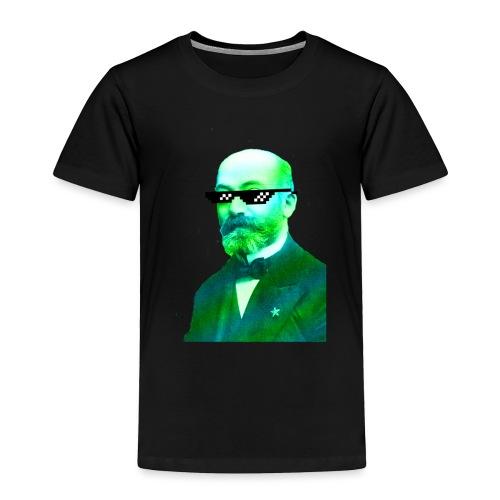 Green and Blue Zamenhof - Toddler Premium T-Shirt
