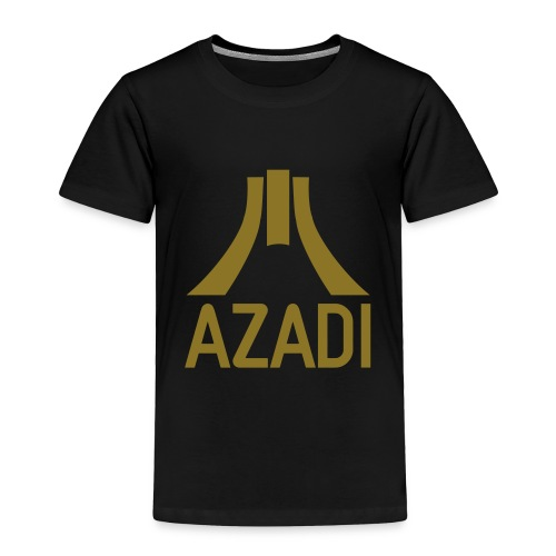 Azadi retro stripes - Toddler Premium T-Shirt