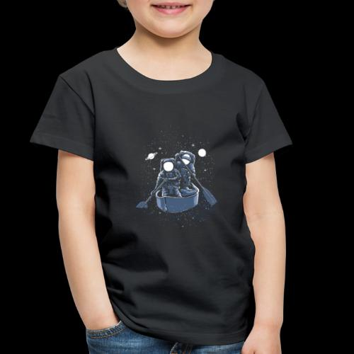Across The Galaxy Astronauts - Toddler Premium T-Shirt