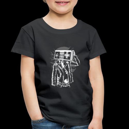 Retro Gamer Head - Toddler Premium T-Shirt