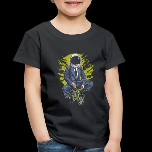 Bike to Work Space - Toddler Premium T-Shirt