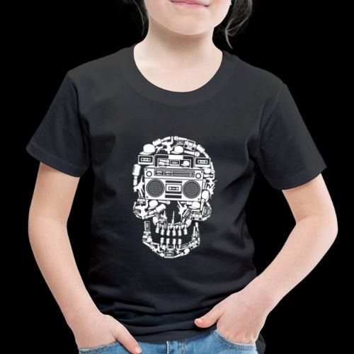 Audio Skull - Toddler Premium T-Shirt