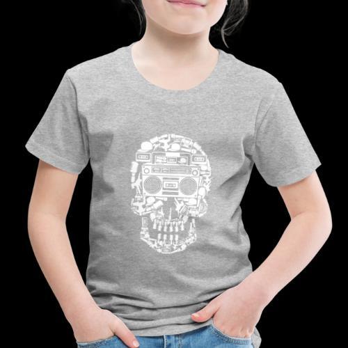 Audio Skull - Toddler Premium T-Shirt