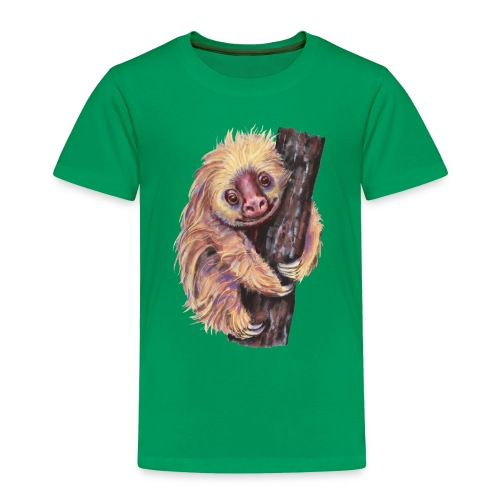 Sloth - Toddler Premium T-Shirt