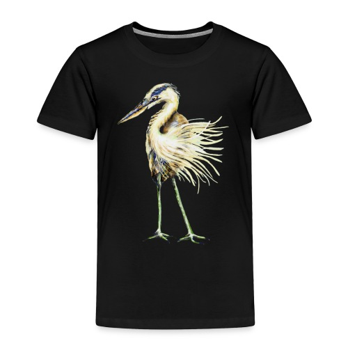 Great Blue Heron - Toddler Premium T-Shirt