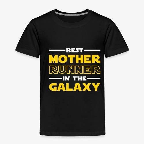 Best Mother Runner In The Galaxy - Toddler Premium T-Shirt