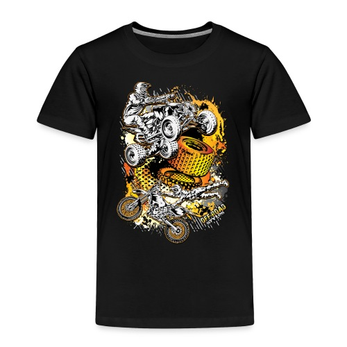 FMX Freestyle Abstract - Toddler Premium T-Shirt