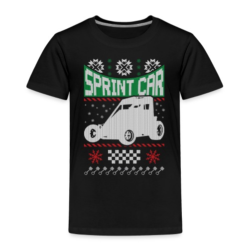 Sprint Car Christmas - Toddler Premium T-Shirt