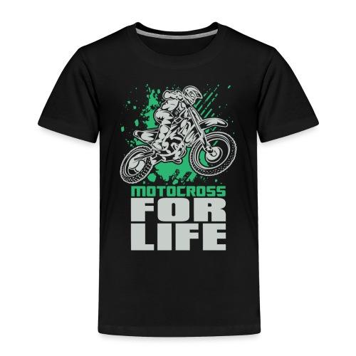 Motocross For Life Stunt - Toddler Premium T-Shirt