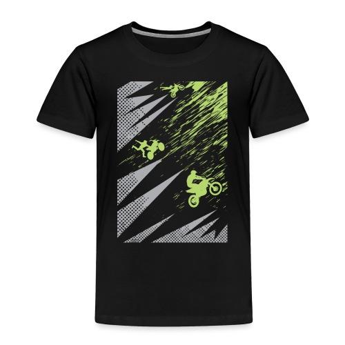 Motocross Dirt Bike Apparel - Toddler Premium T-Shirt