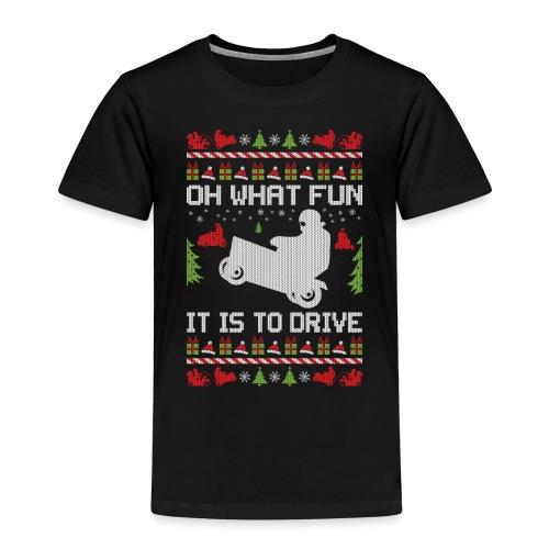 Lawnmower Christmas - Toddler Premium T-Shirt