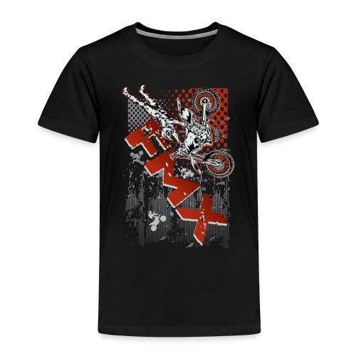 FMX Dirt Biker Red - Toddler Premium T-Shirt