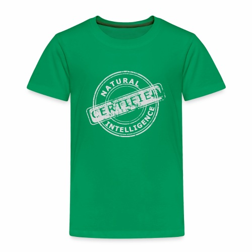 Natural Intelligence inside - Toddler Premium T-Shirt