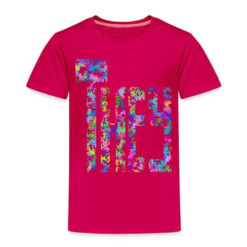 They/Them/Their Pattern They - Toddler Premium T-Shirt