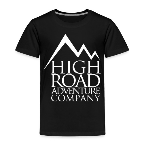 High Road Adventure Company Logo - Toddler Premium T-Shirt