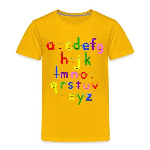 a to z t shirt 1 - Toddler Premium T-Shirt