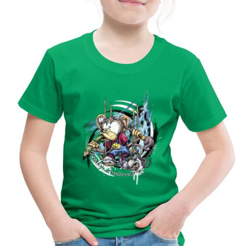 the graphic monkey - Toddler Premium T-Shirt