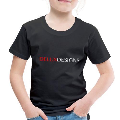 Delux Designs (white) - Toddler Premium T-Shirt