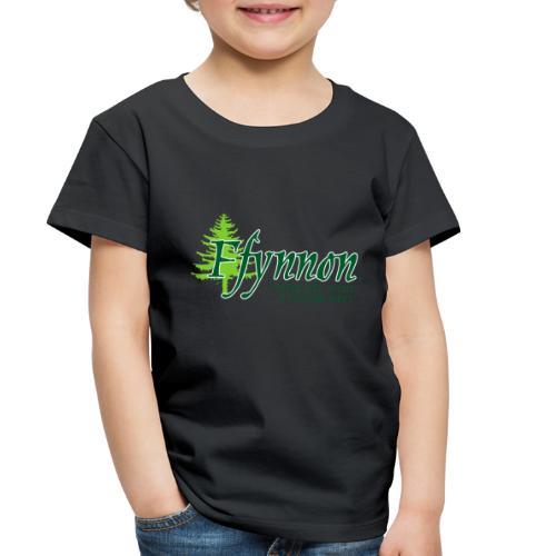 Ffynnon with tagline - Toddler Premium T-Shirt