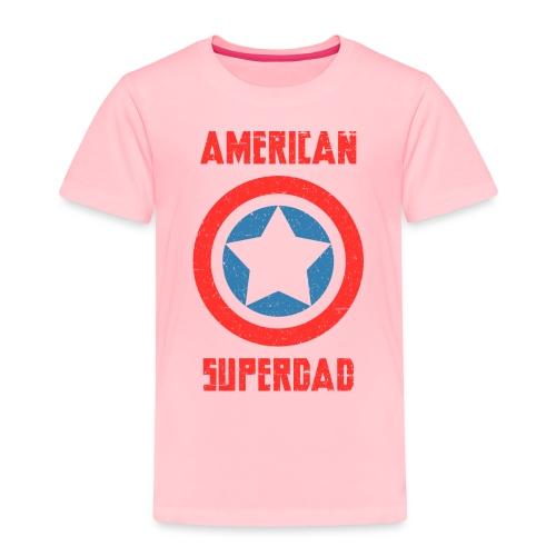 American Superdad - Toddler Premium T-Shirt
