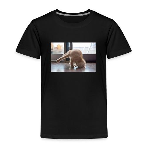 funny animals doing yoga - Toddler Premium T-Shirt