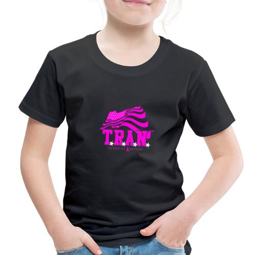 TRAN Ribbon Logo 4 - Toddler Premium T-Shirt
