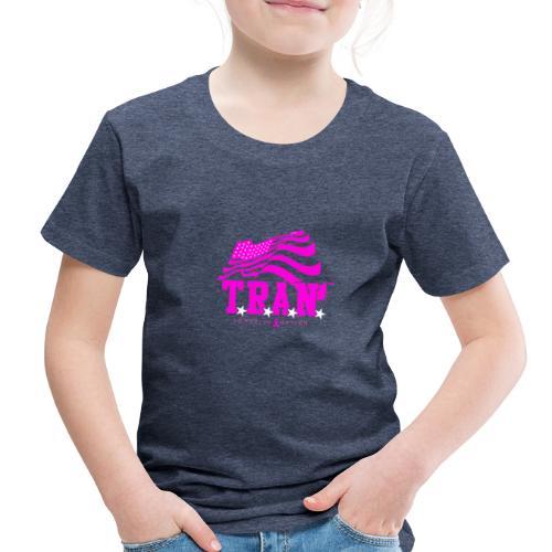 TRAN Ribbon Logo 4 - Toddler Premium T-Shirt
