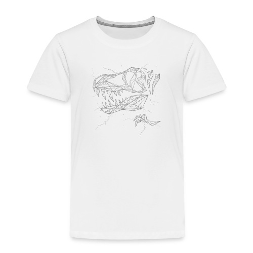Jurassic Polygons by Beanie Draws - Toddler Premium T-Shirt