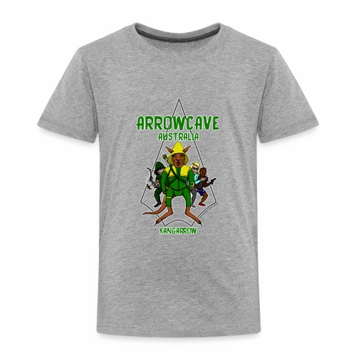 Arrow Cave Logo - Light - Toddler Premium T-Shirt
