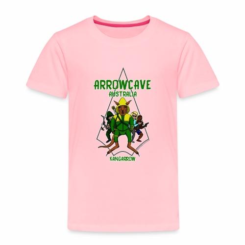 Arrow Cave Logo - Light - Toddler Premium T-Shirt