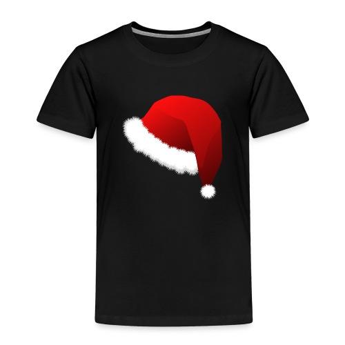Carmaa Santa Hat Christmas Apparel - Toddler Premium T-Shirt