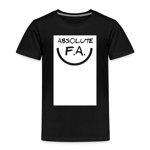 Absolute FA smiley - Toddler Premium T-Shirt