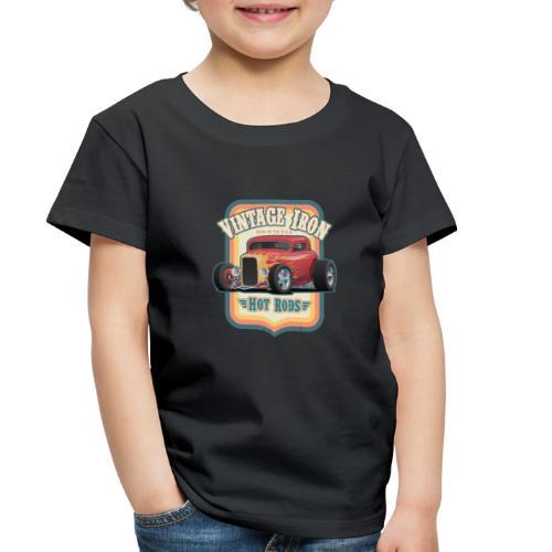 Vintage Iron Hot Rods Retro Car Lovers Design - Toddler Premium T-Shirt