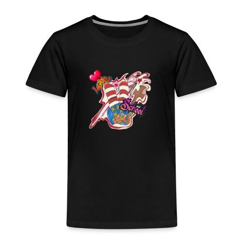 Peace old school - Toddler Premium T-Shirt