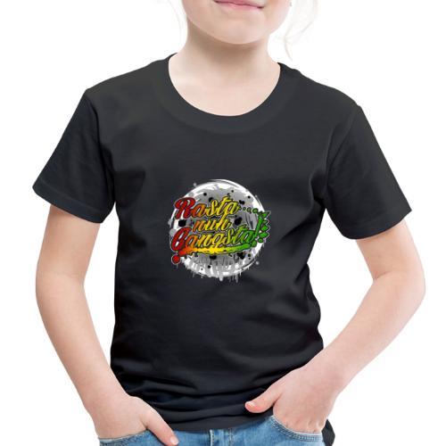 Rasta nuh Gangsta - Toddler Premium T-Shirt