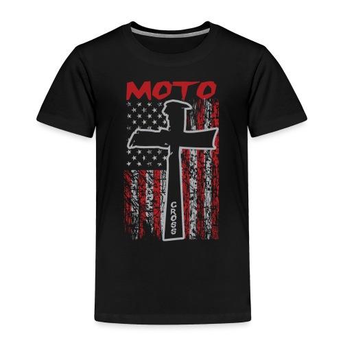 Motocross Christian - Toddler Premium T-Shirt