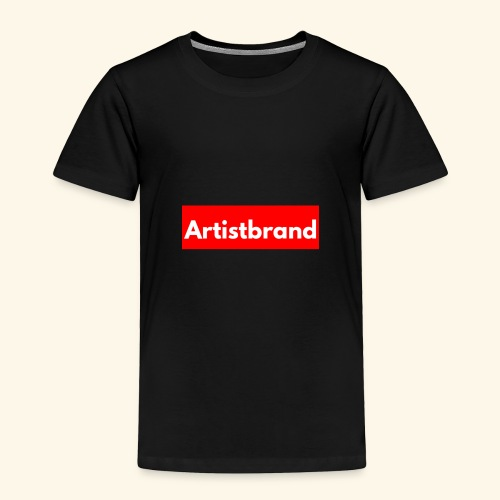 Artist Brand box logo - Toddler Premium T-Shirt
