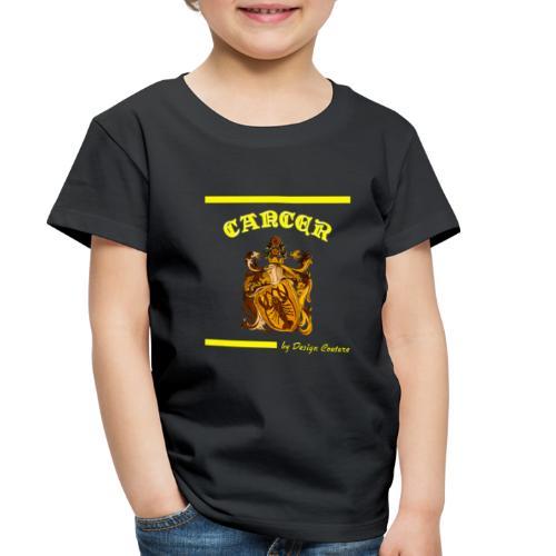 CANCER YELLOW - Toddler Premium T-Shirt